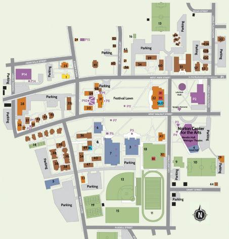 Centre College Campus Map | fysiotherapieamstelstreek